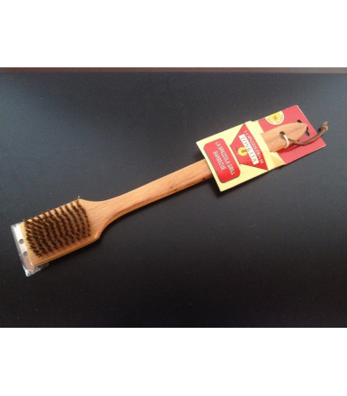 Tonkita barbecue brusher with scraper
