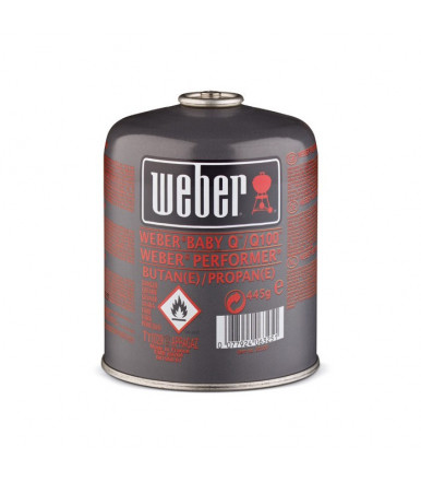 Small Weber Gas Cylinder (445 gr) for 1000-1200-Go Anywhere series