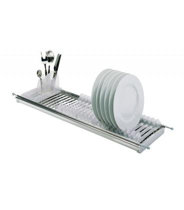 TecnoInox Modular 1 escurreplatos de acero inoxidable con parrilla ... ee6e49443778