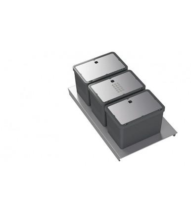 Tecnoinox Premiumkit rubbish bin  for drawers