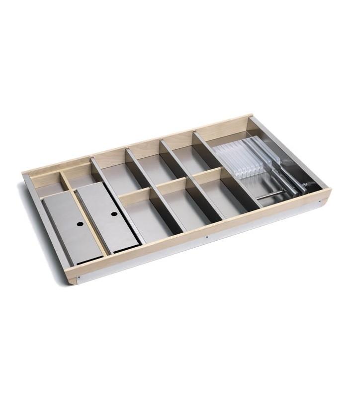 Portaposate Per Cassettiera Da 90 Cm.Sistema Cassetto Portaposate Tecnoinox Mancini Mancini Shop