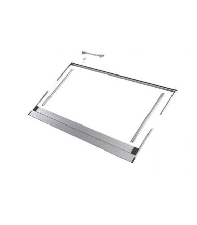 Tecnoinox adjustable shaped frame with led lighting