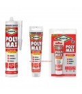 Bostik Poly Max Crystal Express transparent adhesive and sealant