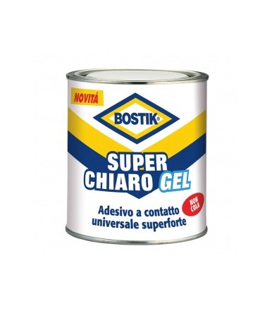 Bostik Superchiaro Gel universal adhesive