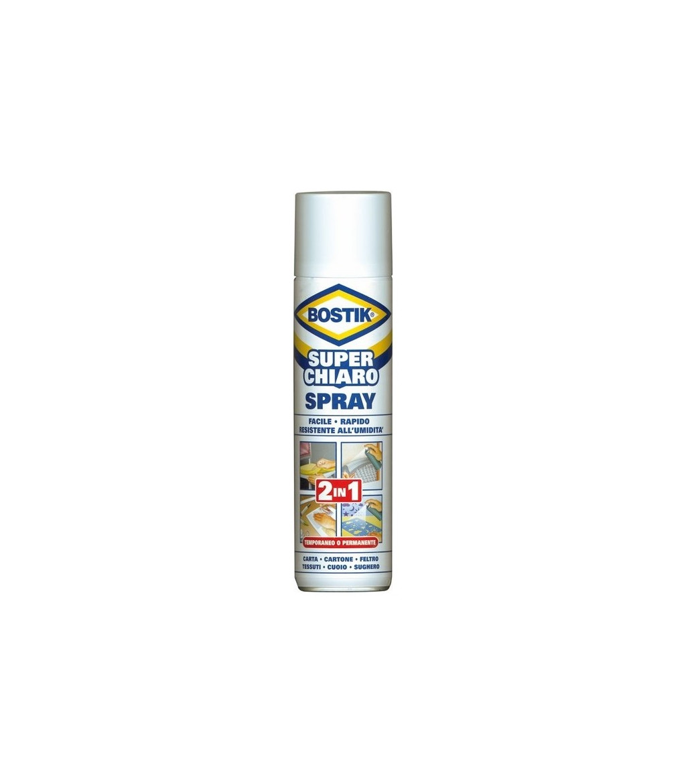 Colla universale Bostik superchiaro spray