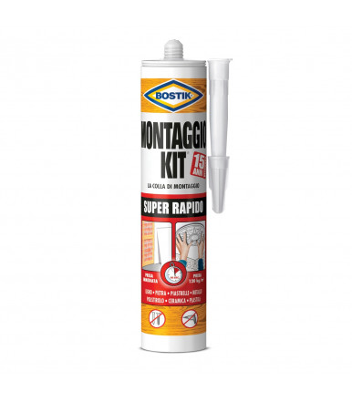 Bostik Kit Super rapido montage glue