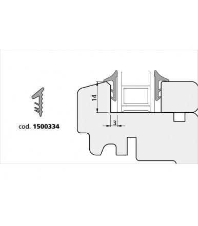 Olimpia 1500334 gum trim for various profiles