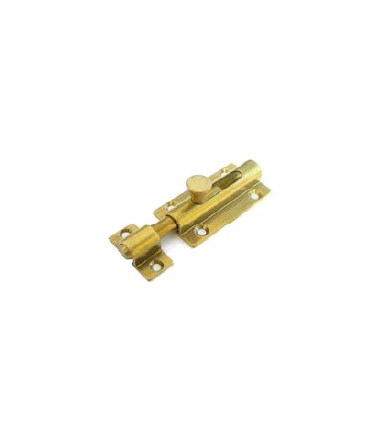 Brass shaped bolt with spring art 232
