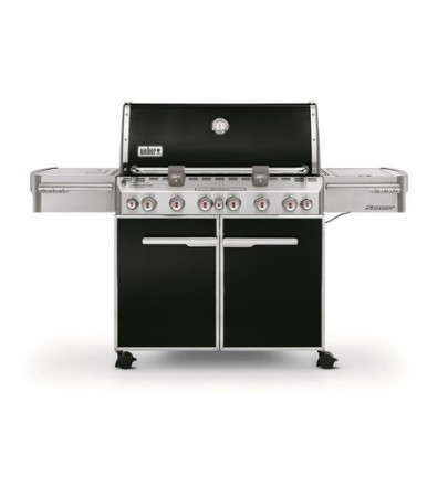 Barbecue a gas Weber Summit E-670 Gbs Black