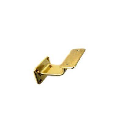 Art 378 brass handrail support