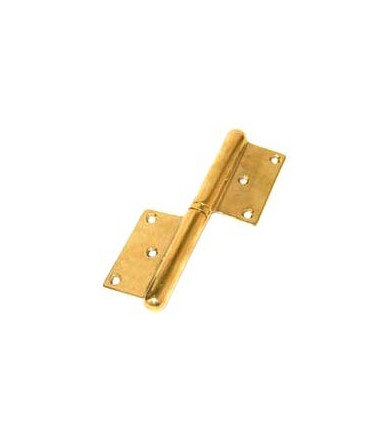 Art 455 Dx-Sx brass hinge in thickness