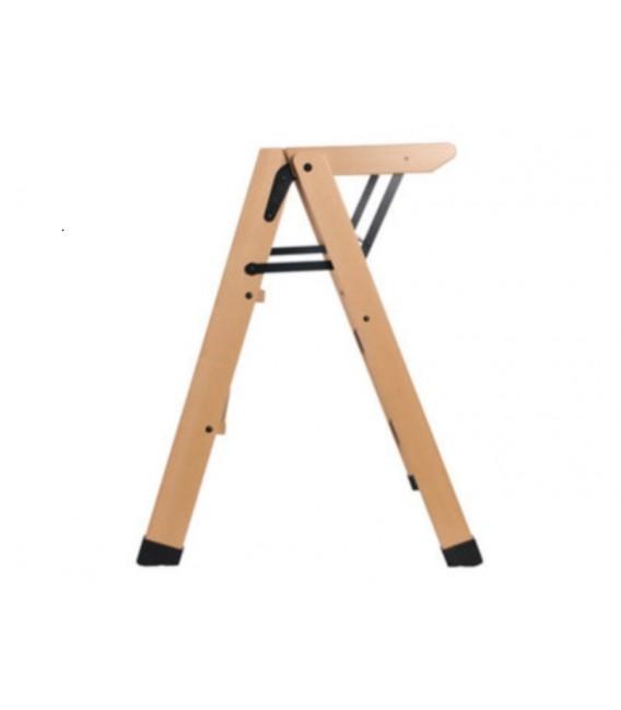 Wood 3 steps stool