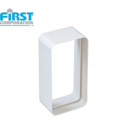 CG ABS joint for rectangular ventilation tubes