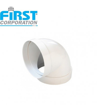CCR ABS 90° FF curve for ventilation system