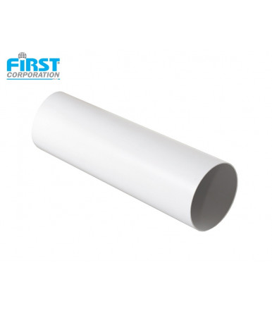 CTRB PVC 1,5 mt white tube for ventilation system