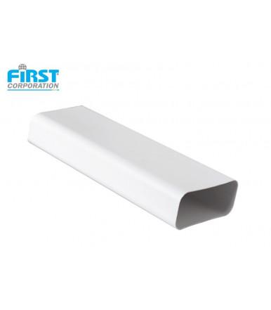 CT126B PVC 1,5 mt white tube for ventilatio system