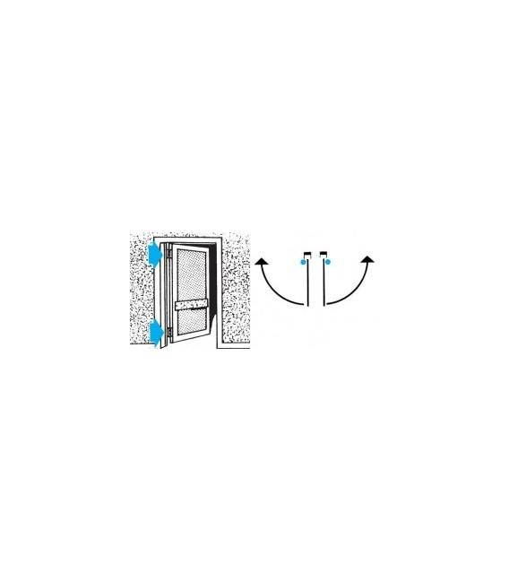 "IBMF 102 single actin spring hinge ""Bommer"" type"