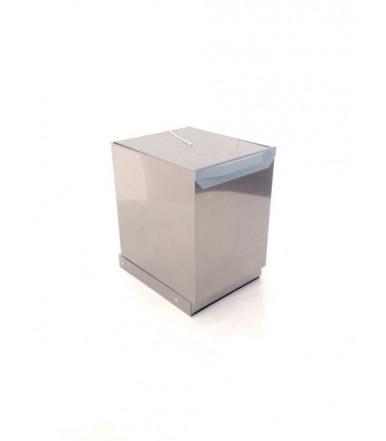 Lavenox PEI stainless steel rubbish bin