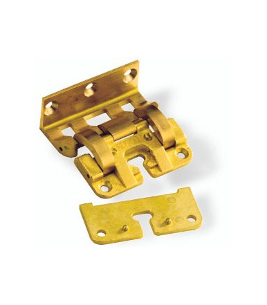 art. 19 B Invisible brass hinge for door 30 mm