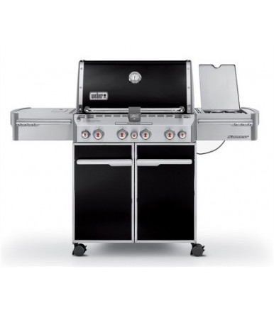 Weber Summit E-470 Black