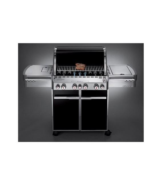 barbecue a gas weber summit e 470 black mancini mancini shop. Black Bedroom Furniture Sets. Home Design Ideas