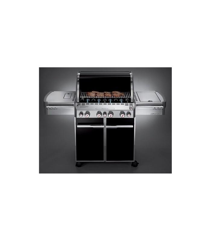 barbecue a gas weber summit e 470 black mancini. Black Bedroom Furniture Sets. Home Design Ideas