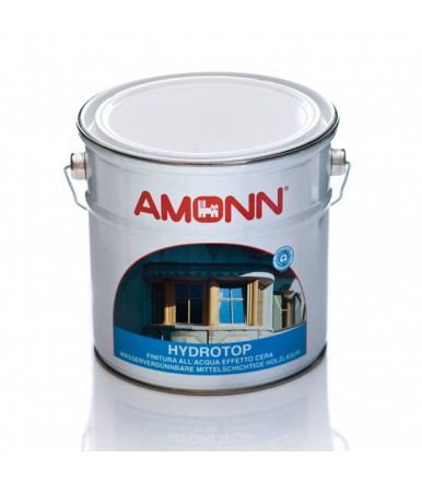 Amonn Hydrotop water-based top coat varnish with wax effect