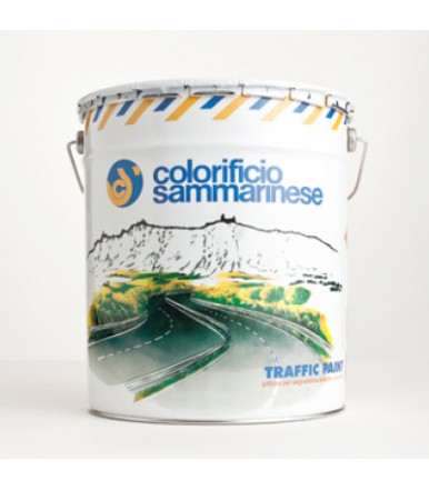 Colorificio Sammarinese white refractive paint traffic