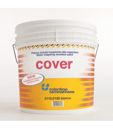 Colorificio Sammarinese Cover white water-based paint breathable for interior