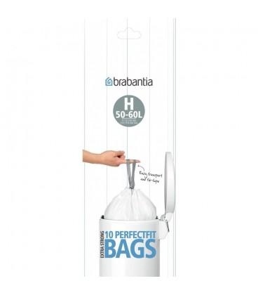 Brabantia Bin Liner H 10 waste bags roll