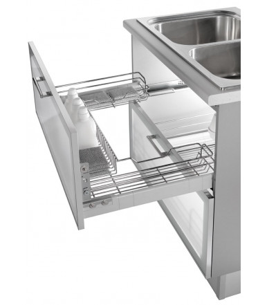 Undersink drawer basket Inoxa 3207