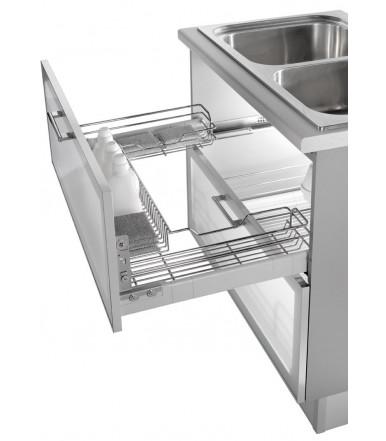 Undersink drawer basket Inoxa 3207