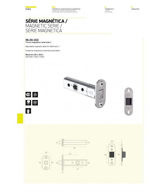 Magnetic latch JNF