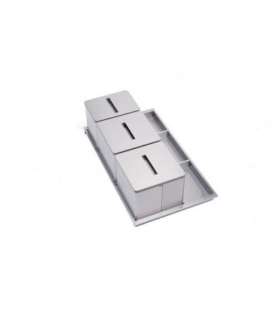 Tecnoinox AL100 rubbish bin  for drawers