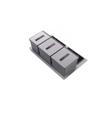 Tecnoinox T2 rubbish bin  for drawers