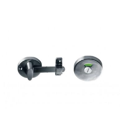 Chiusura inox per porta bagno con indicatore JNF codice SM.02039