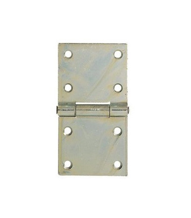 Aldeghi  rectangular heavy hinges galvanized steel
