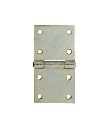 Cerniere rettangolari pesanti in acciaio zincato Aldeghi