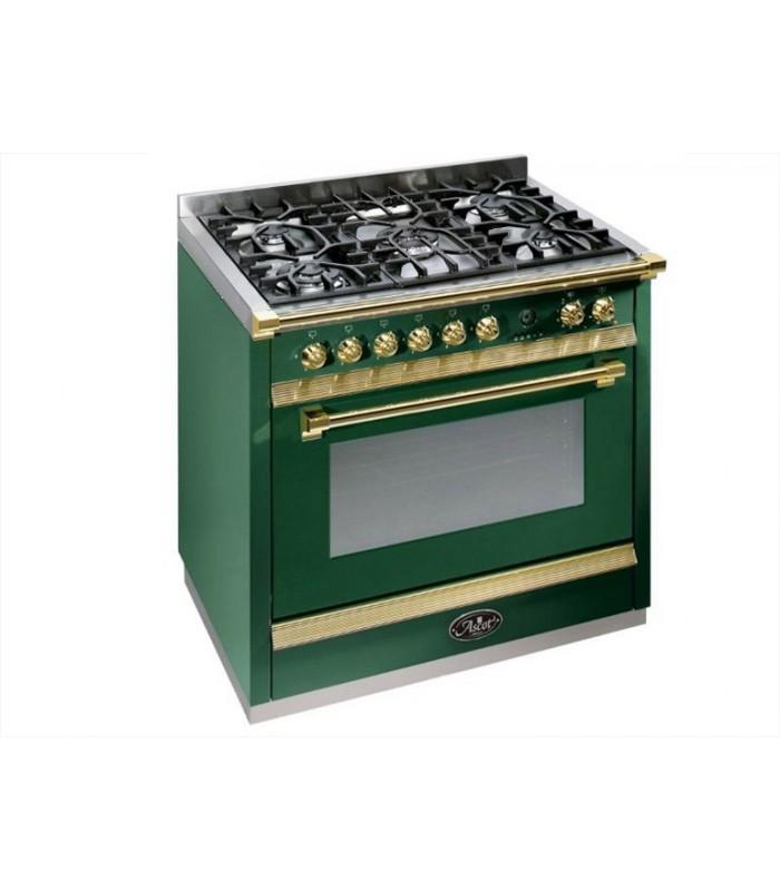 Cucina a libera installazione Ascot Steel 90 - Mancini & Mancini Shop