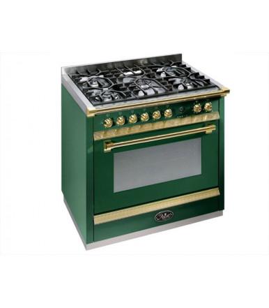 Cucina a libera installazione Ascot Steel 90