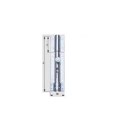 Aldeghi Deadbolt padlock light 15 cm