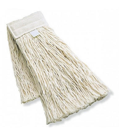 Mop in cotone con supporto cotone/ poliestere