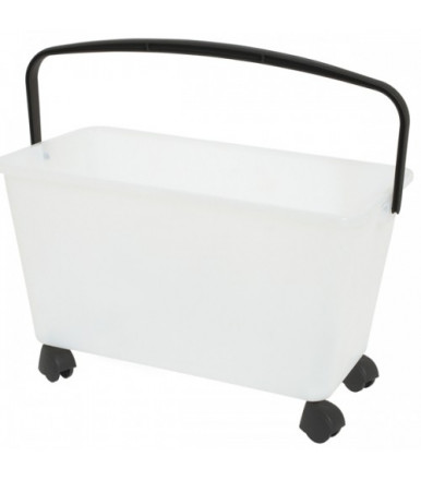 Squizzo Bucket with Wheels 15 L