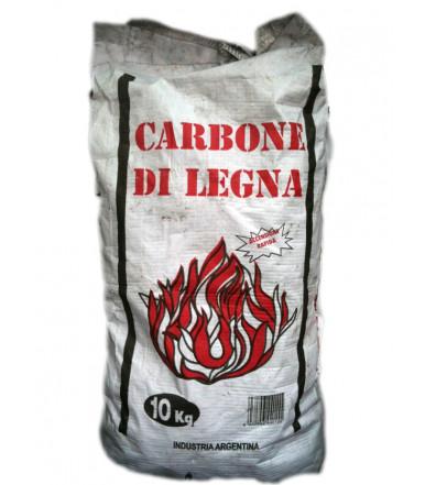 10 Kg Carbón Vegetal - madera Argentino