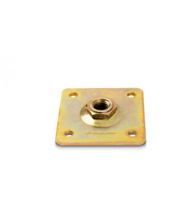 Rolling Center adjustable plate for hinge