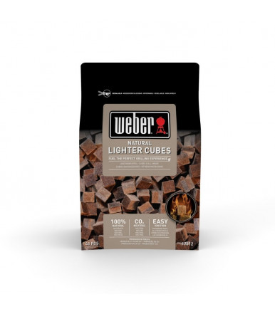 Weber natural lighter cubes