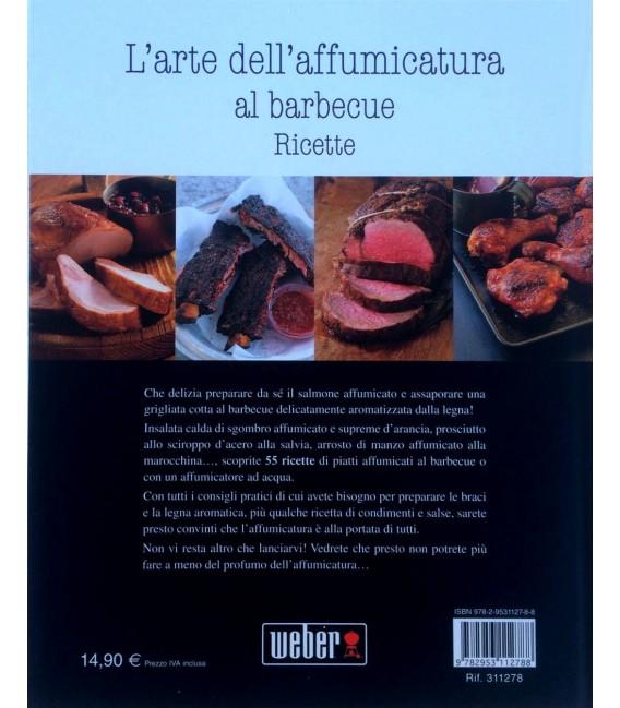 Libro Weber L'arte dell'affumicatura al barbecue