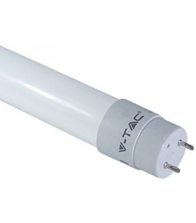 LED tube T8 10W - 60 cm with plug Rotatable 6000K