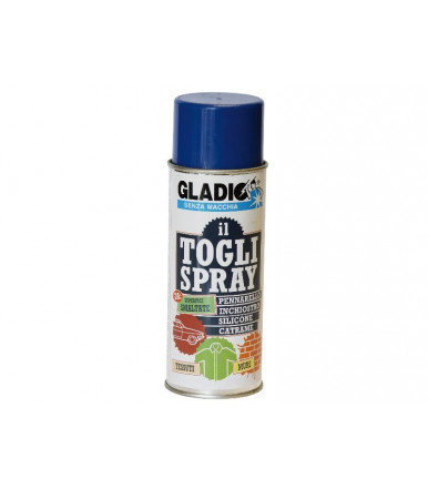 Detergente Gladio Retire el bote de spray 400 ML