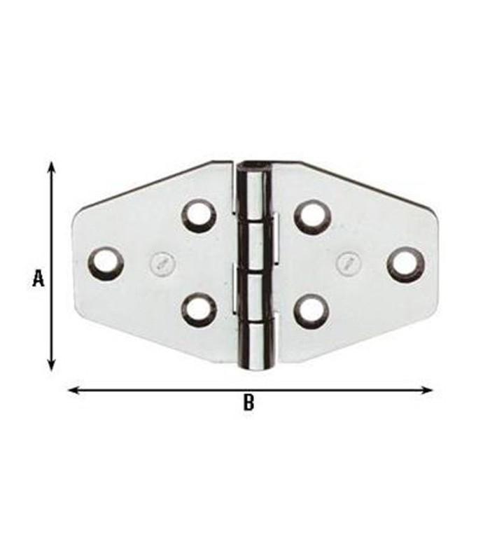 Cerniere per arredamenti nautici acciaio inox 40x70 854in for Mancini arredamenti